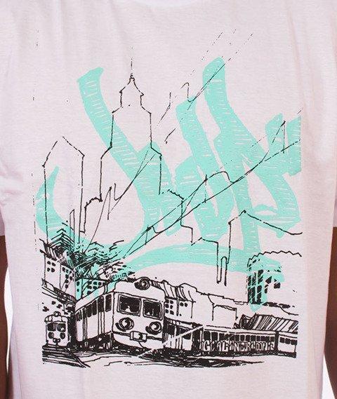 JWP-Hometown T-shirt Biały