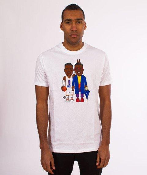 K1X-LT Double Trouble T-Shirt Biały