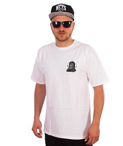 KR3W-JBrown Tomb T-Shirt Biały