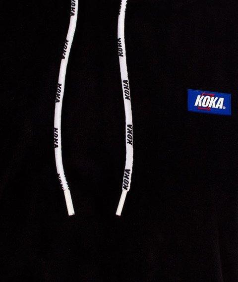 Koka-Velvet Bluza z Kapturem Czarna
