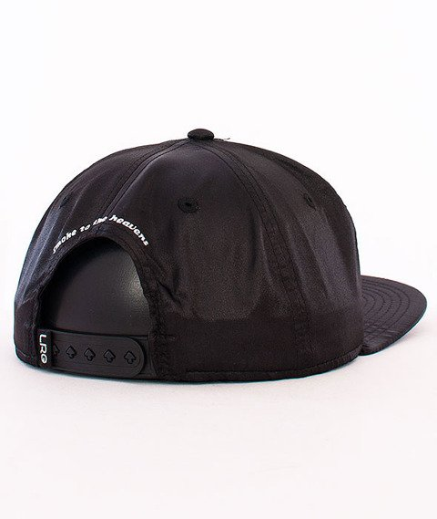 LRG-Steaks Is High Snapback Black