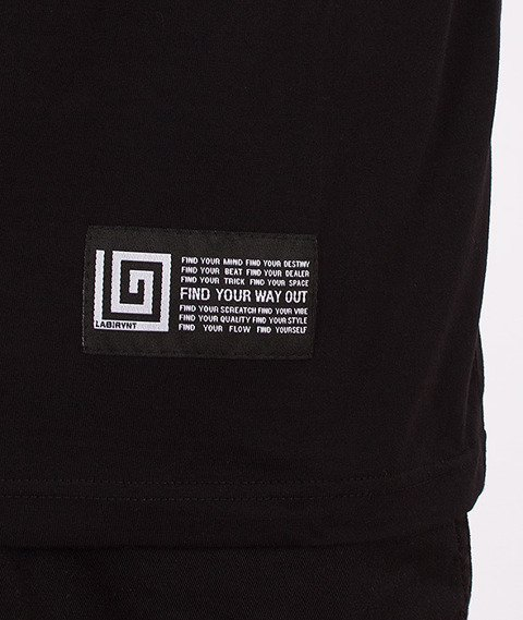 Labirynt-Find T-shirt Czarny
