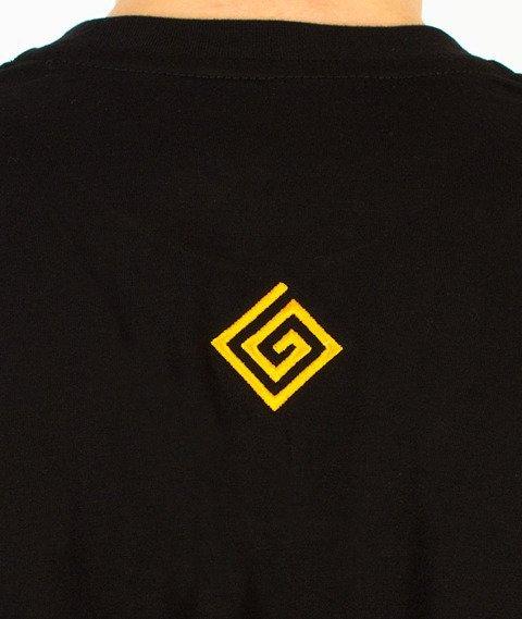 Labirynt-Minotaur T-shirt Czarny
