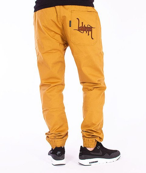 Labirynt-Tag Jogger Pants Miodowe