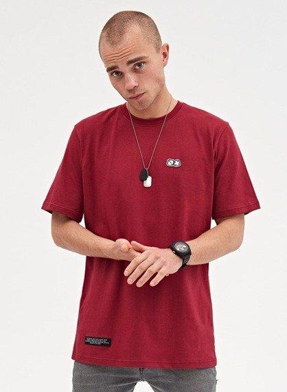 Lucky Dice-Basic Dice T-shirt Bordowy