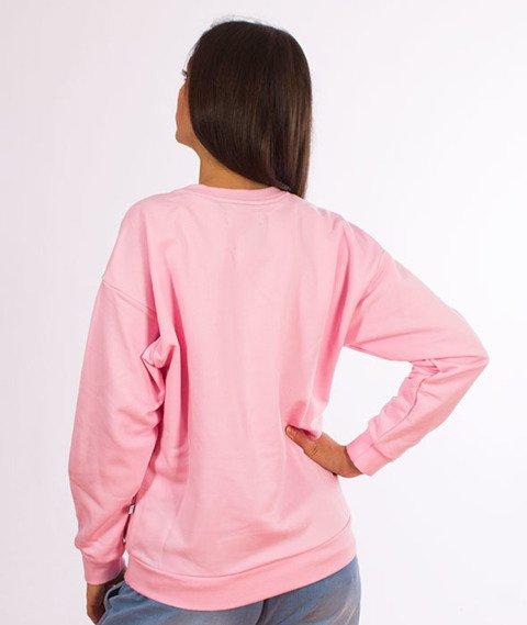 Lucky Dice-Logo Bluza Damska Różowa