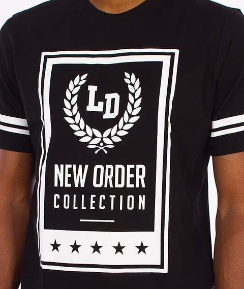Lucky Dice-New Order T-shirt Czarny