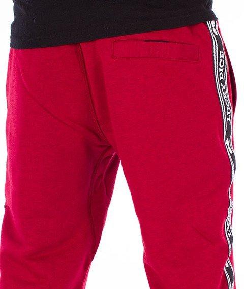Lucky Dice-SP Tape LD Sweatpants Spodnie Dresowe Bordowe
