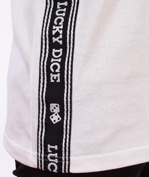 Lucky Dice-Tape LD T-shirt Biały