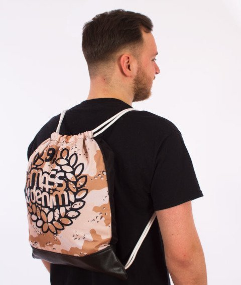 MASS-Base Gym Bag Worek Sand Camo