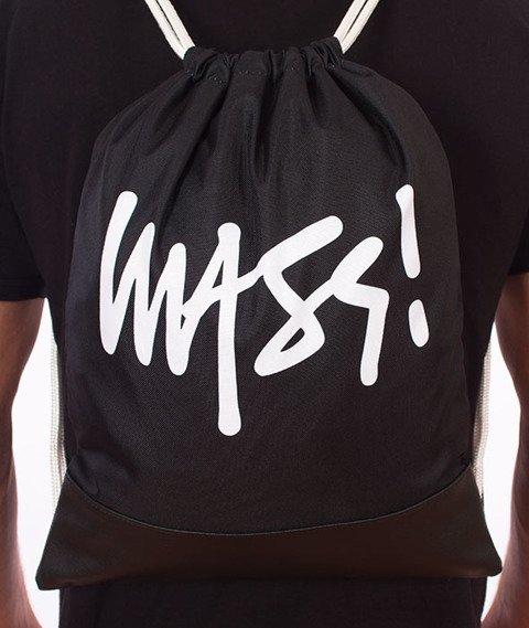 MASS-Signature Gym Bag Worek Czarny