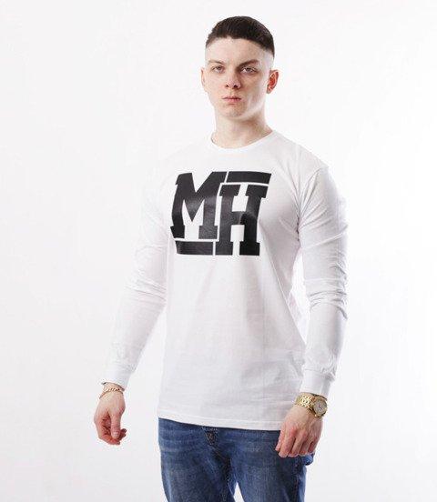 METODA -MH Logo Longsleeve Biały