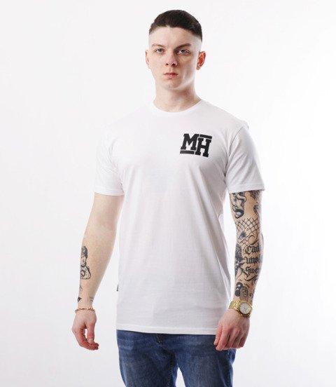 METODA -MH Small Logo T-Shirt Biały