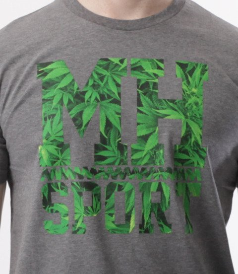 METODA -MH Sport Weed T-Shirt Szary