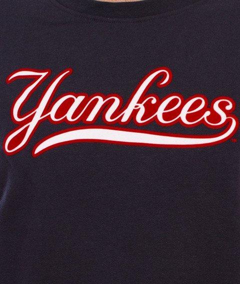 Majestic-New York Yankees Yester Crewneck Bluza Granatowa/Stalowa