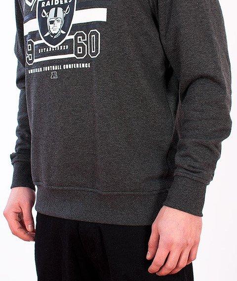 Majestic-Oakland Raiders Crewneck Dark Grey