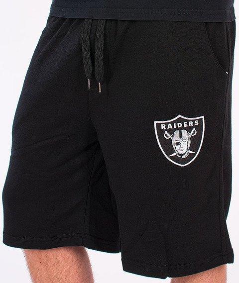 Majestic-Oakland Raiders Short Desta Fleece Black