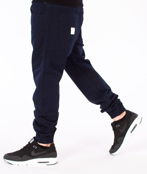 Mass BASE Jogger Sneaker Fit Granatowy