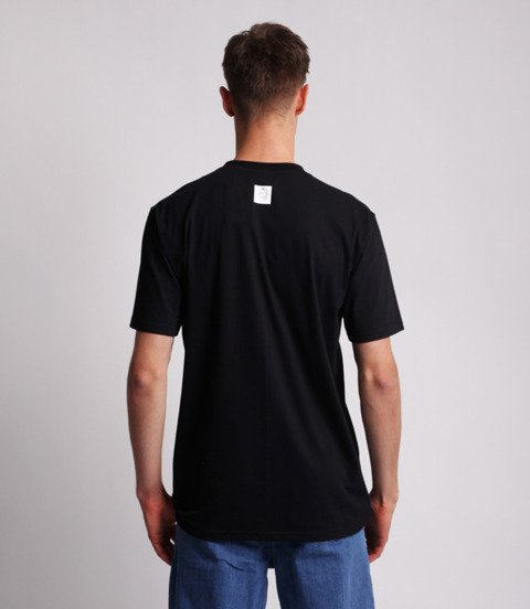 Mass BASE SMALL LOGO T-Shirt Czarny