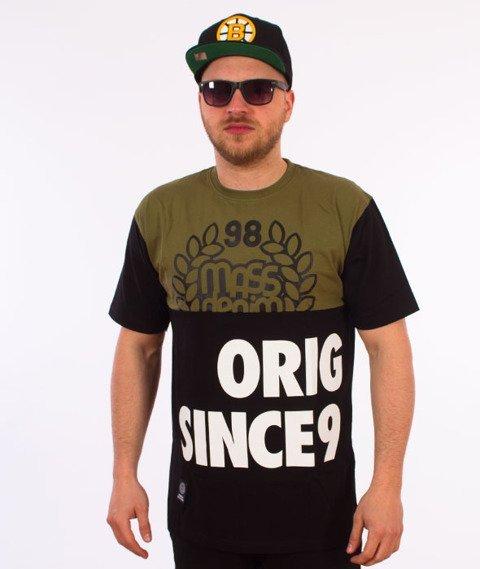 Mass-Baller T-shirt Khaki/Czarny