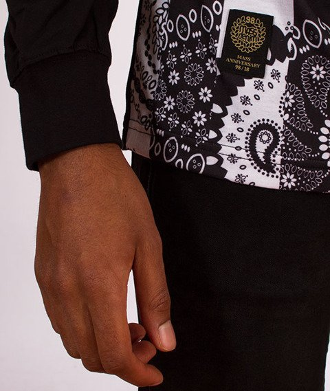 Mass-Bandana Longsleeve Hoody Black