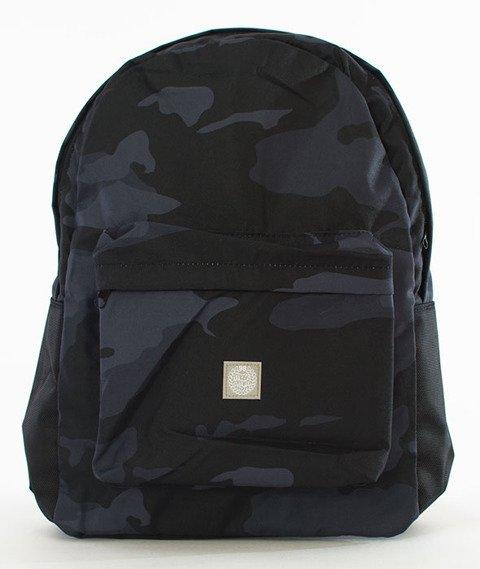 Mass-Base Backpack Plecak Czarny/Camo