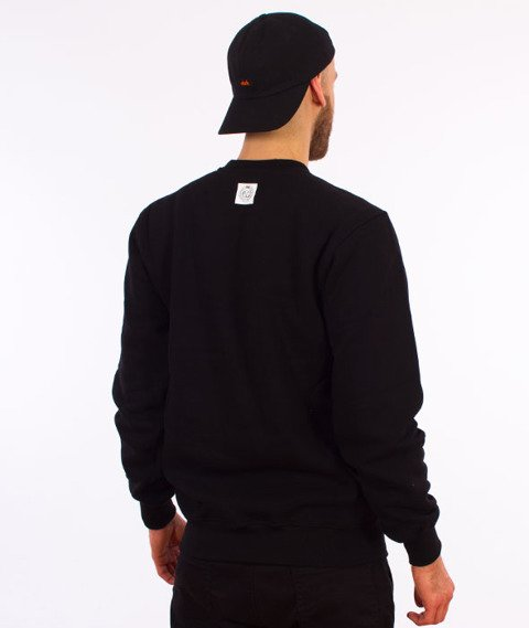 Mass-Base Crewneck Bluza Black