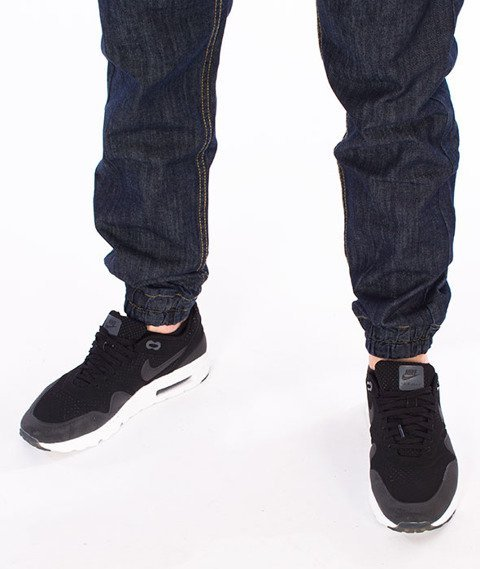 Mass-Base Jogger Pants Sneaker Fit Spodnie Rinse Blue