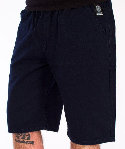 Mass-Base Pants Spodnie Krótkie Granatowe