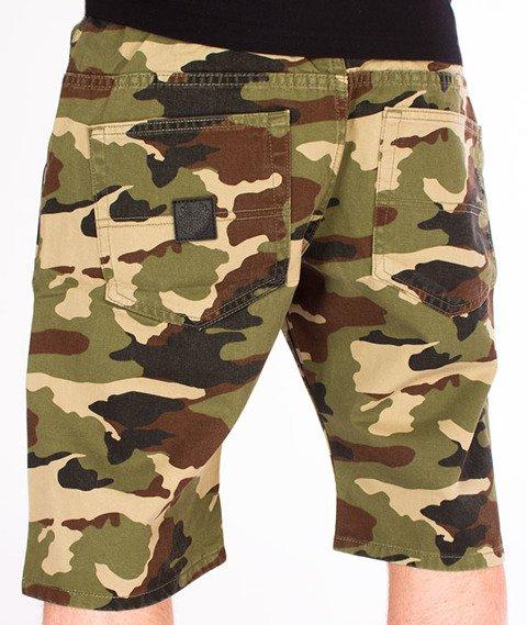 Mass-Base Pants Spodnie Krótkie Woodland Camo
