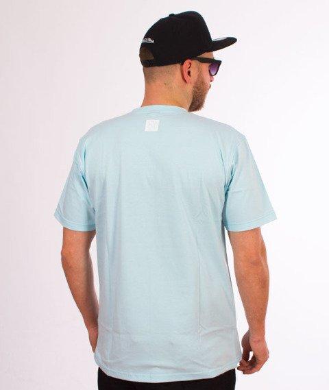 Mass-Base T-shirt Jasny Niebieski