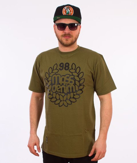 Mass-Base T-shirt Khaki
