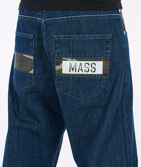 Mass-Battle Baggy Fit Jeans Blue