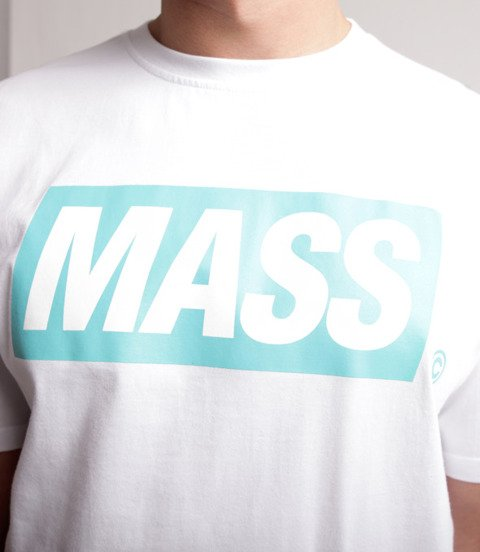 Mass Big Box T-Shirt Biały