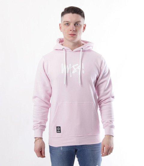 Mass-Bluza Sweatshirt Classic Signature Medium Różowa