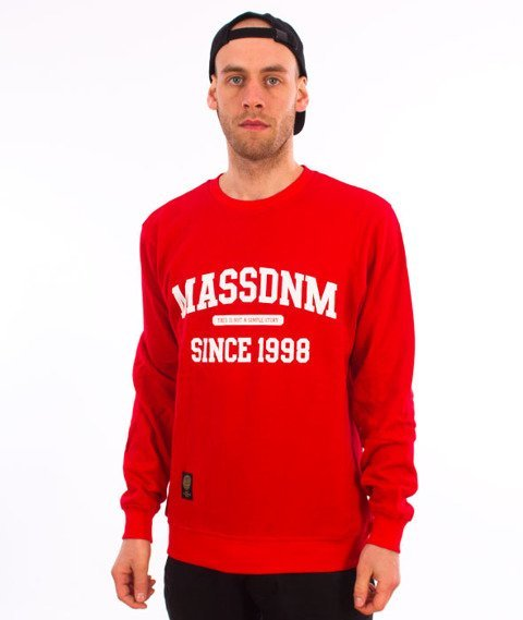 Mass-Campus Bluza Red