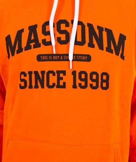 Mass-Campus Bluza z  Kapturem Orange