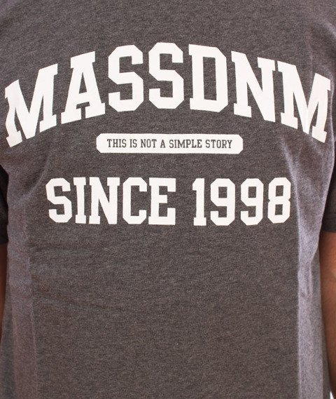 Mass-Campus T-Shirt Dark Heather Grey
