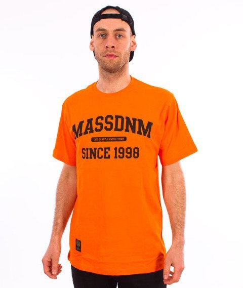 Mass-Campus T-shirt Orange
