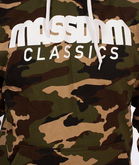 Mass-Classics Bluza Kaptur Woodland Camo