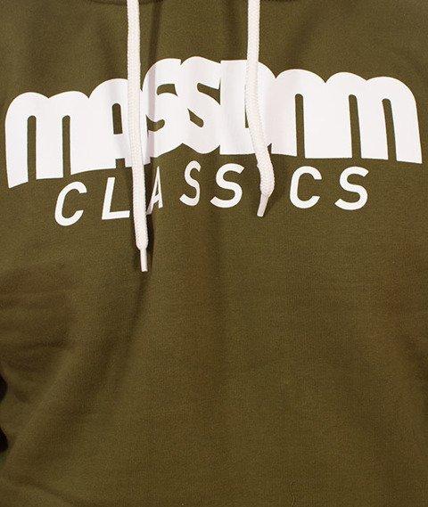 Mass-Classics Bluza Z Kapturem Khaki