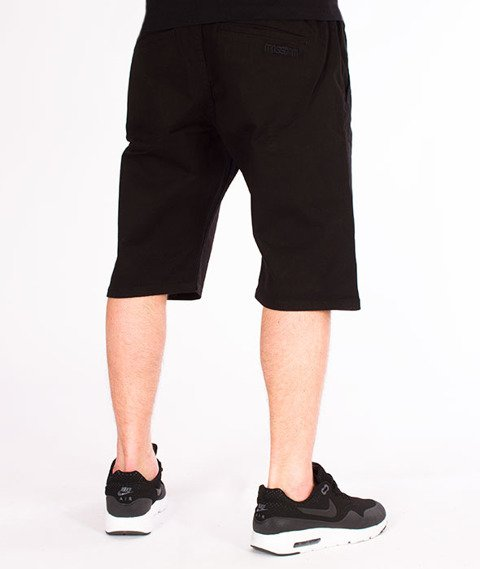 Mass-Classics Chino Spodnie Krótkie Black