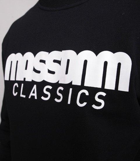 Mass-Classics Crewneck Bluza Czarna
