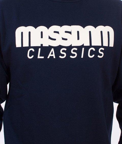 Mass-Classics Crewneck Bluza Navy