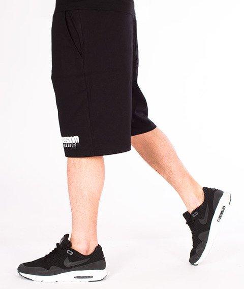 Mass-Classics Spodnie Dresowe Krótkie Black