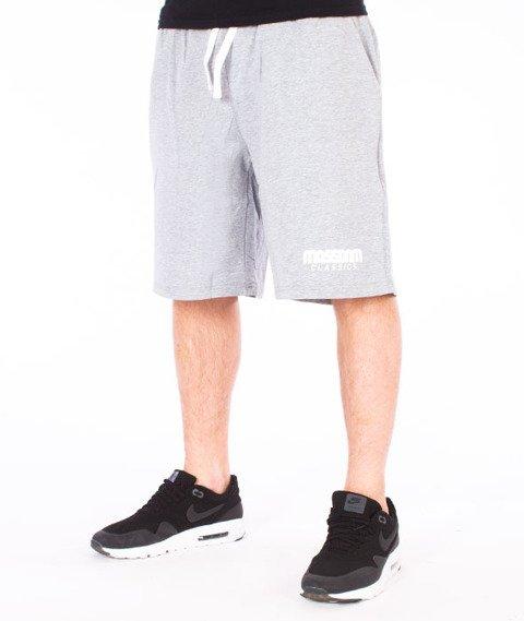 Mass-Classics Spodnie Dresowe Krótkie Szare