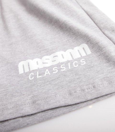 Mass Classics Spodnie Krótkie Jasny Szary
