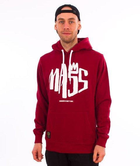 Mass-Crown Bluza Kaptur Claret