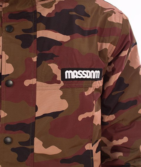 Mass DISTRICT Kurtka Zimowa Woodland Camo