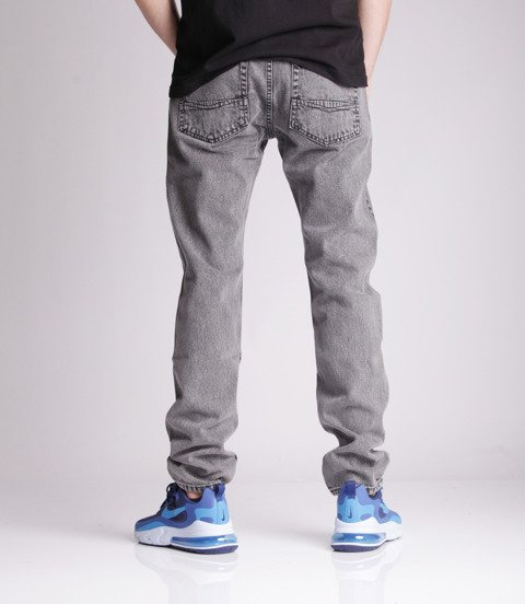 Mass DOPE Jeans Tapered Fit Black Stone Washed
